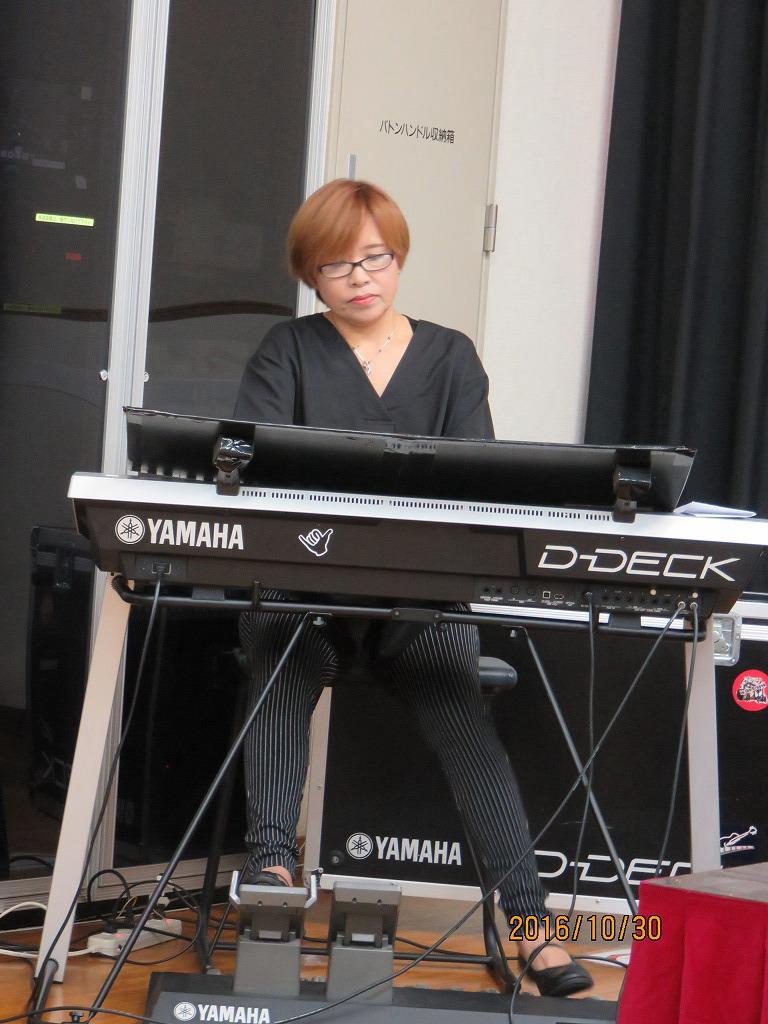 アトラクションで演奏いただいた「浅井幸代」様