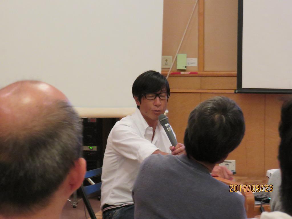 なぎさ総合研究所の石川さんの講演