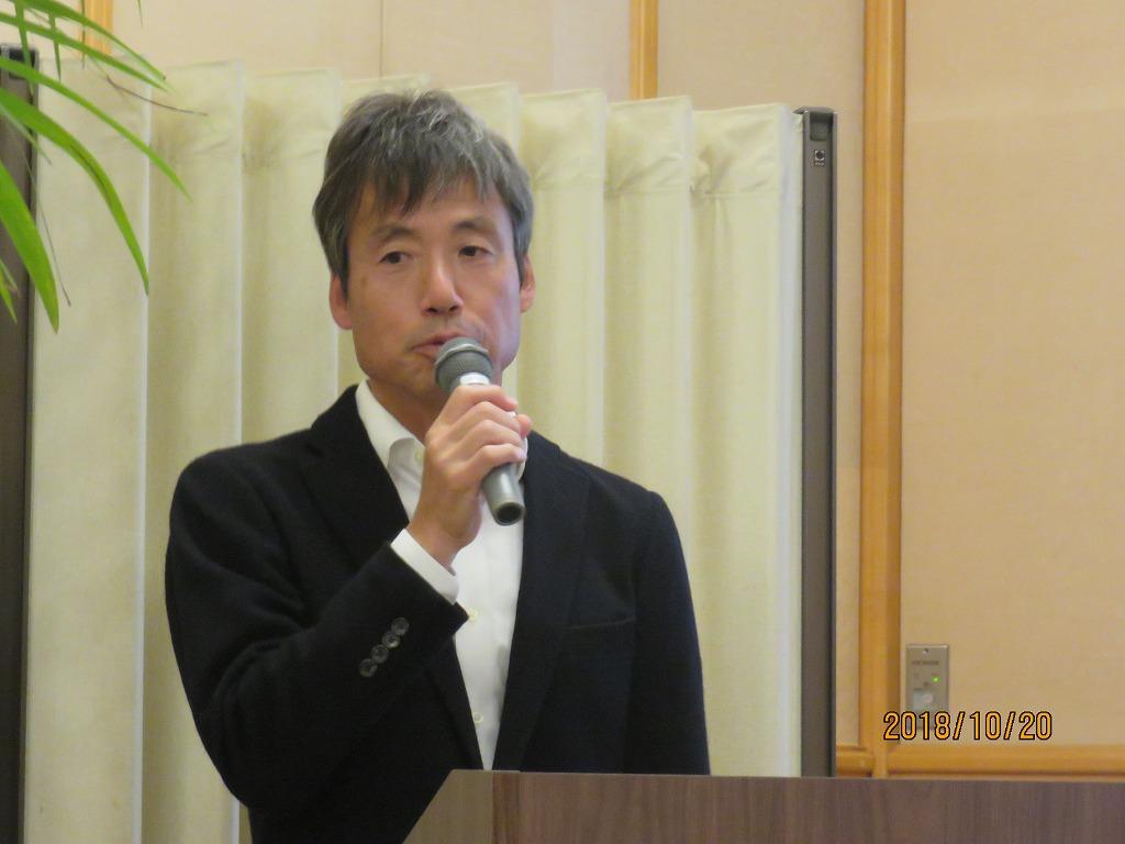 今回は多田さんがMC