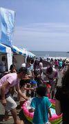 湘南祭2015_子ども、海、青空、いいですね