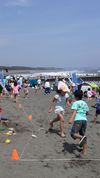 湘南祭2015_ビーサン飛ばし選手権