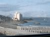 海岸沿いのホテルの護岸状況