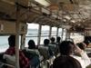 バス車内からの風景