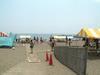 浜へと続くバリアフリーコンパネ
