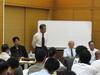 藤沢土木事務所の青島部長から説明