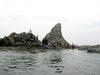えぼし岩と参加者