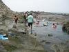 えぼし岩での生物観察